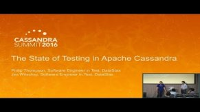 Embedded thumbnail for The State of Testing in OSS Cassandra (James Witschey, Philip Thompson, DataStax) | C* Summit 2016
