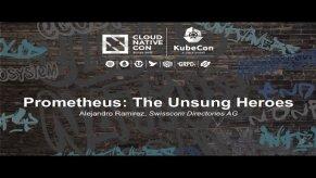 Embedded thumbnail for Prometheus: The Unsung Heroes [I] - Alejandro Ramirez, Swisscom Directories AG