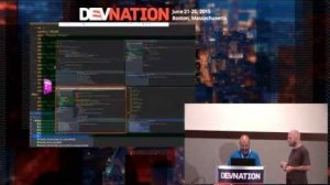 Embedded thumbnail for DevNation 2015  - Taming microservices testing with Docker & Arquillian Cube