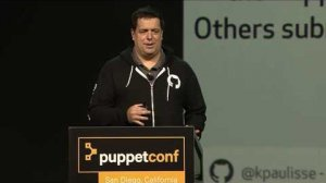 Embedded thumbnail for Scaling Puppet and Puppet Culture at GitHub – Kevin Paulisse at PuppetConf 2016
