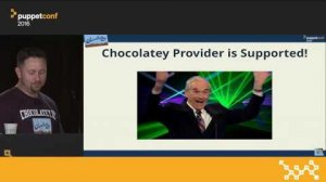 Embedded thumbnail for Easily Manage Software on Windows With Chocolatey – Rob Reynolds at PuppetConf 2016