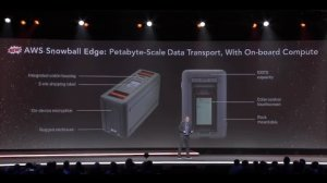 Embedded thumbnail for New AWS Snowball Edge, Petabyte-Scale Data Transport with On-Board Storage and Compute
