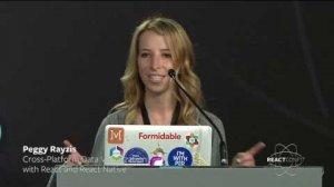 Embedded thumbnail for Peggy Rayzis - Cross Platform Data Viz with React + React Native - React Conf 2017