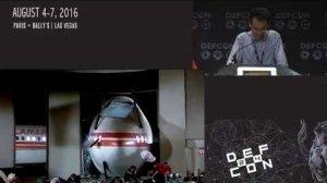 Embedded thumbnail for DEF CON 24 - Jianhao Liu, Chen Yan, Wenyuan Xu - Can You Trust Autonomous Vehicles?