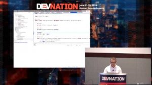 Embedded thumbnail for DevNation 2015 - Productive Java EE and HTML5 developement