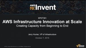 Embedded thumbnail for AWS re:Invent 2015 | (SPOT301) AWS Innovation at Scale