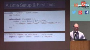 Embedded thumbnail for HTML5DevConf May 2014: Ryan Anklam, Netflix: Stop Making Excuses and Start Testing Your JavaScript!