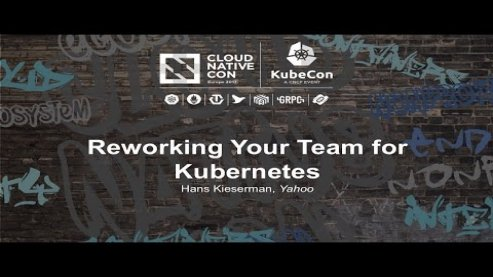 Embedded thumbnail for Reworking Your Team for Kubernetes [B] - Hans Kieserman, Yahoo