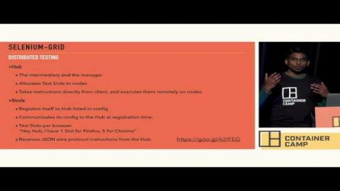 Embedded thumbnail for Container Camp 2017 Sydney Day 2 Lighting Manoj Kumar